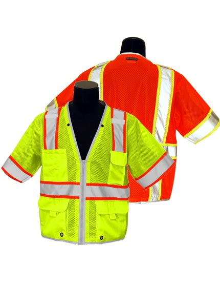 1ff351411e1 Airport Safety Vests - Reflective Ground Crew Vests