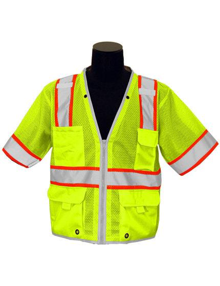 LIME Brilliant Class 3 Vest