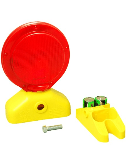 3 Volt Red LED Barricade Flasher