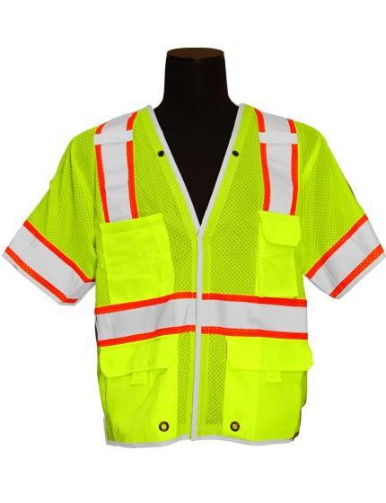 5-Point Breakaway Class 3 Safety Vest