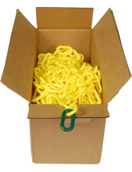 100' Box of Plastic Chain (2