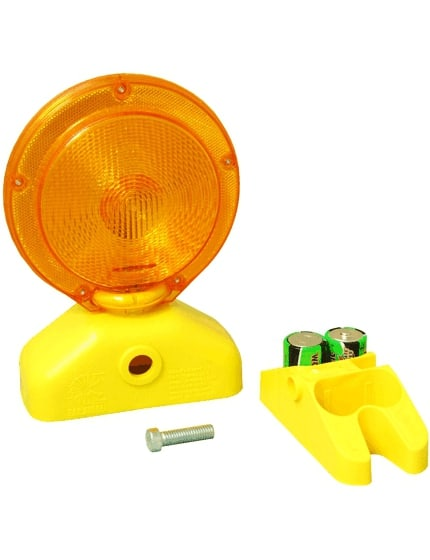 3-Volt Amber LED Barricade Flasher