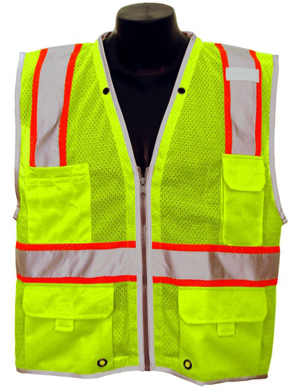 ANSI Class 2 Engineer/Inspector Safety Vest