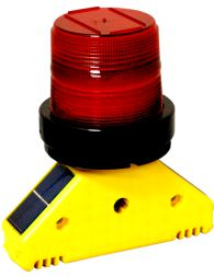 Solar LED Barricade Flasher