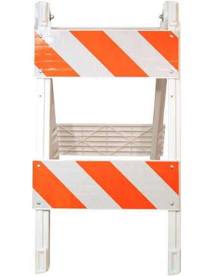 Type II Folding Plastic Barricade