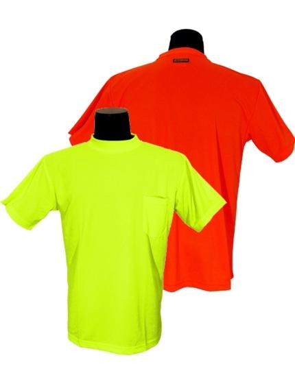 Customizable Microfiber High Visibility Shirt